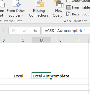 How to include double quotes in Excel formulas? - Excel AutoComplete